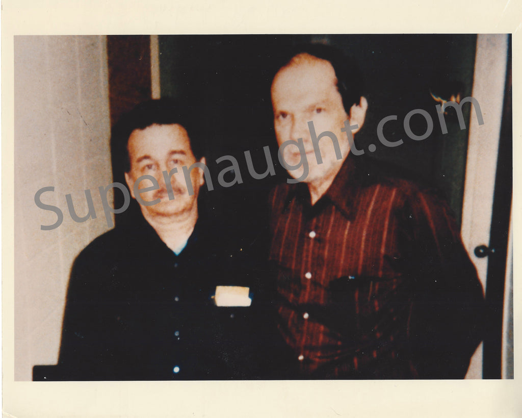 Donald Henry Pee Wee Gaskins  and Wilton Earle Hall Press Photo