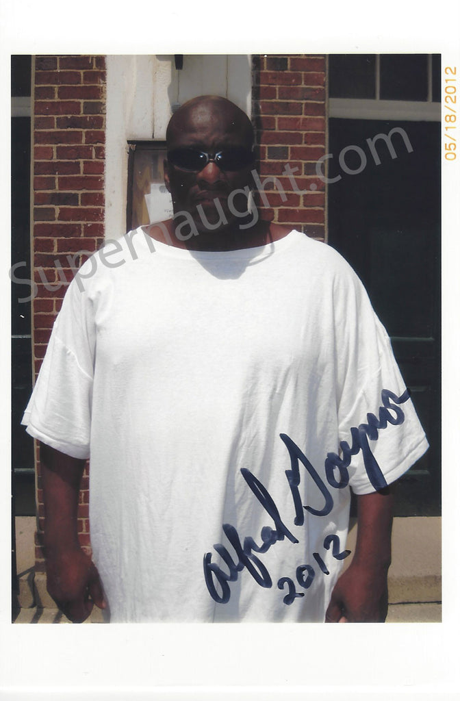 Alfred Gaynor Prison Photo 2012 Signed - Supernaught True Crime Collectibles