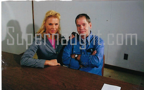 Robin Gecht with Prison Girlfriend Photo Signed