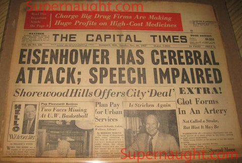 Edward Gein Newspaper November 26 1957