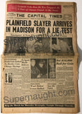 Edward Gein Newspaper November 19 1957