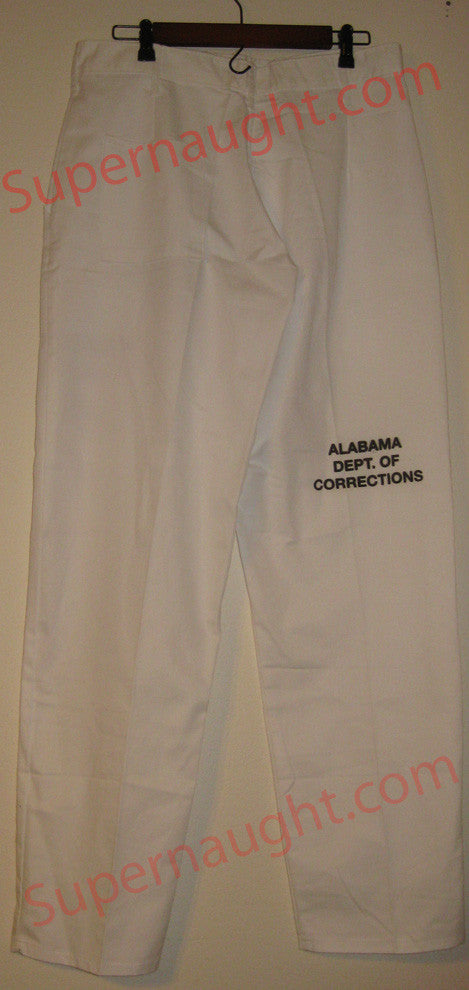 Bobby Ray Gilbert Signed Prison Issued Pants - Supernaught True Crime Collectibles - 1