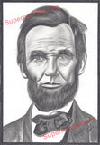 Bobby Ray Gilbert Abraham Lincoln artwork print