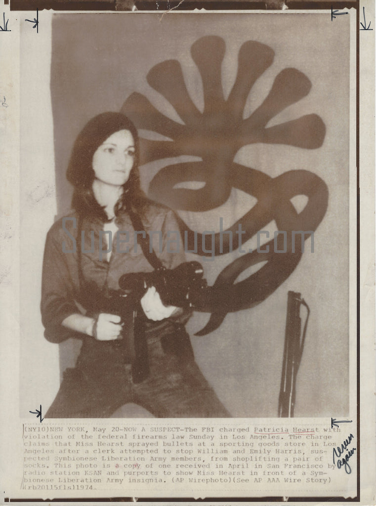 Patricia Hearst Press Photo
