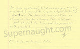 Gary Heidnik letter and prison envelope both set signed - Supernaught True Crime Collectibles - 2