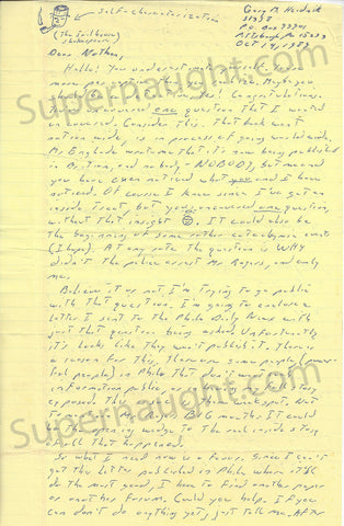gary heidnik house of horrors serial killer prison letter signed