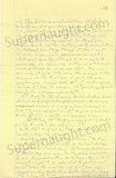 Gary Heidnik four page letter with self portrait signed - Supernaught True Crime Collectibles - 2