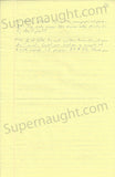 Gary Heidnik four page letter with self portrait signed - Supernaught True Crime Collectibles - 4