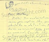Gary Heidnik four page letter with self portrait signed - Supernaught True Crime Collectibles - 6