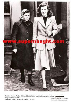 Juliet Hulme and Pauline Parker 1954 Press Photo