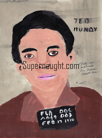 Ted Bundy Painting