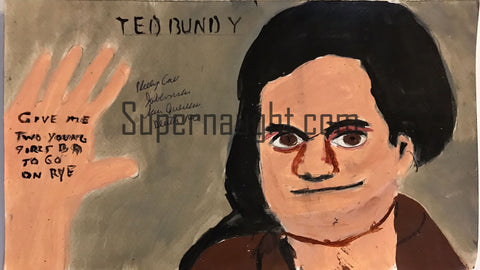 Phillip Jablonski Ted Bundy Painting