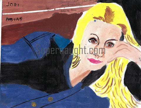 Jodi Arias Painting