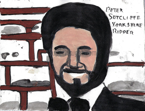 Yorkshire Ripper Peter Sutcliffe Painting