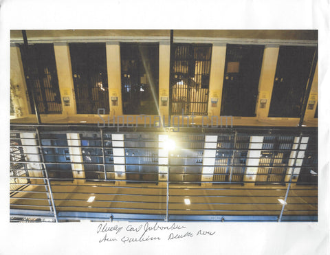 Phillip Jablonski Signed Photo Of California's Death Row