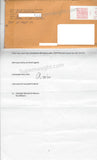 Keith Jesperson Letter Requesting Interview and Jesperson Signed Envelope