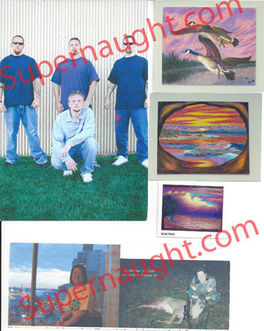 Keith Jesperson 5 photos artwork and pen pals lot 1 - Supernaught True Crime Collectibles - 1