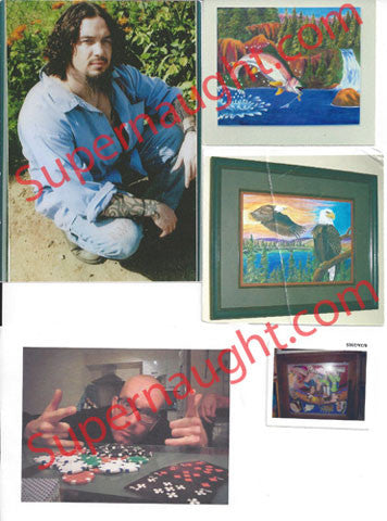 Keith Jesperson 5 photos of art and pen pals lot 2 - Supernaught True Crime Collectibles