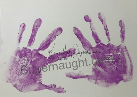 Keith Jesperson Hand Prints