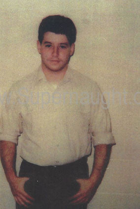 John Joubert photo taken on death row - Supernaught True Crime Collectibles