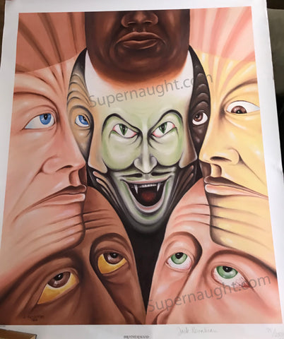 Jack Kevorkian Brotherhood Print Signed