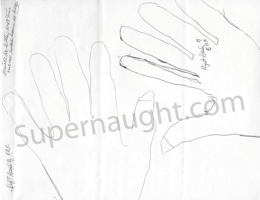 edgar ray killen signed hand tracings mississippi burning