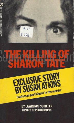 The Killing of Sharon Tate Lawrence Schiller 1970 Signet PB