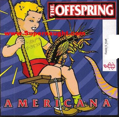 Randy Kraft Offspring prison owned CD tited Americana signed Kraft - Supernaught True Crime Collectibles