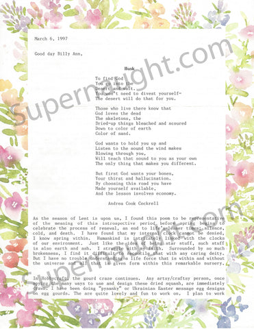 Patricia Krenwinkel 1997 Two Page Letter Signed - Supernaught True Crime Collectibles - 1