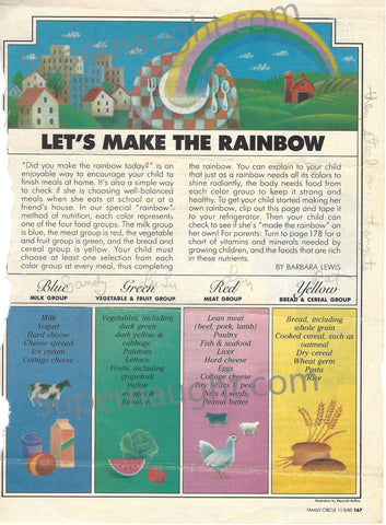Charles Manson Lets Make A Rainbow 1983 Family Circle