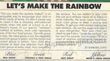 Charles Manson Lets Make A Rainbow 1983 Family Circle - Supernaught True Crime Collectibles - 3