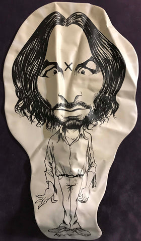 charles manson blow up doll bizarre magazine collectible