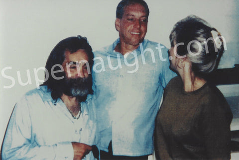 Charles Manson and Kenny Calihan Prison Visiting Photo