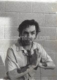 Charles Manson Four Candid Prison Photos