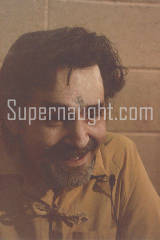Charles Manson Three Corcoran State Prison Photos