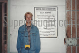 Charles Manson Signed USP Alcatraz Photo