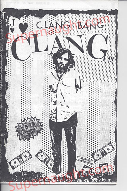 Charles Manson Clang Bang Clang 1994 Fanzine - Supernaught True Crime Collectibles - 1