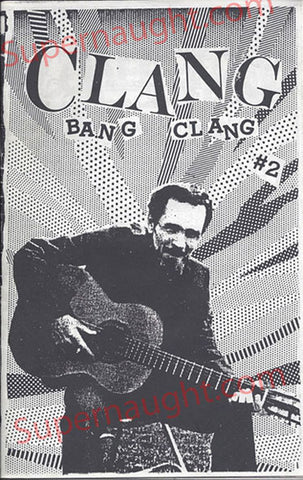 Charles Manson Clang Bang Clang Fanzine No. 2 - Supernaught True Crime Collectibles - 1