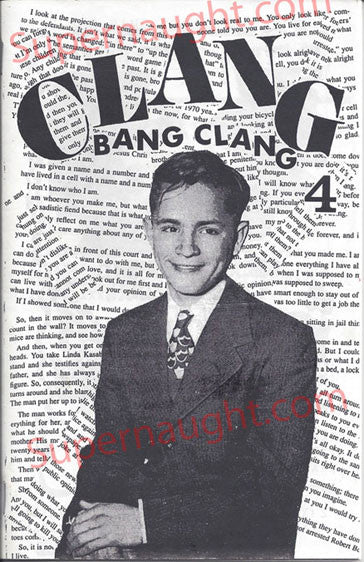 Charles Manson Clang Bang Clang 1997 Fanzine No 4 - Supernaught True Crime Collectibles - 1