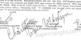 Charles Manson Classification Review Signed - Supernaught True Crime Collectibles - 2