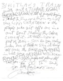 Charles Manson 3 Page Letter Signed with Envelope - Supernaught True Crime Collectibles - 3
