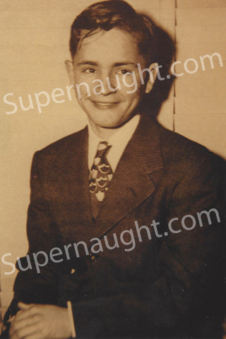 Charles Manson Circa 1947 Teenage Photo