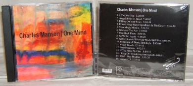 Charles Manson One Mind CD New - Supernaught True Crime Collectibles