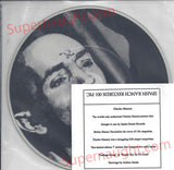 Charles Manson Garbage Dump Glow in the Dark Picture Disc Spahn Ranch Records - Supernaught True Crime Collectibles - 2