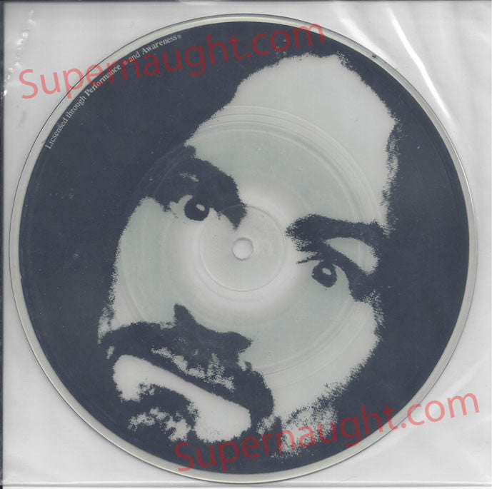 Charles Manson Garbage Dump Glow in the Dark Picture Disc Spahn Ranch Records