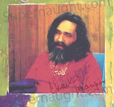 Charles Manson Sandy Good signed artwork print