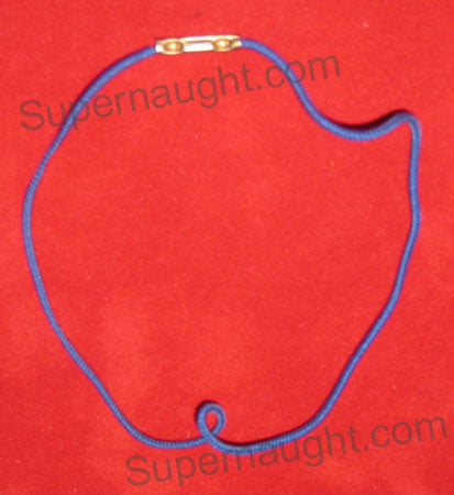 Charles Manson hair tie owned and used in prison - Supernaught True Crime Collectibles