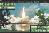 Charles Manson Kennedy Space Center Postcard Signed - Supernaught True Crime Collectibles - 2