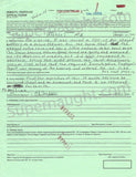 Charles Manson Dec 2005 Inmate Appeal Form Signed - Supernaught True Crime Collectibles - 1