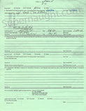 Charles Manson Dec 2005 Inmate Appeal Form Signed - Supernaught True Crime Collectibles - 3